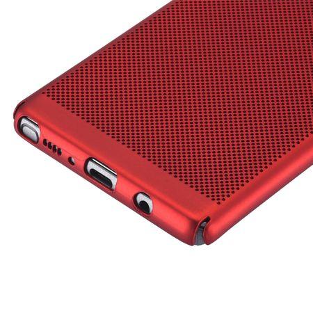 Handy Hülle für Samsung Galaxy Note 8 Schutzhülle Case Tasche Cover Etui Rot – Bild 5