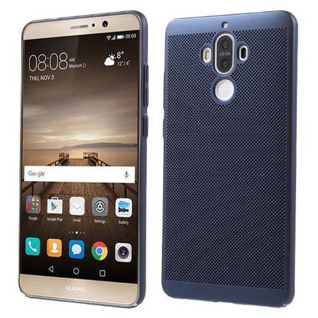 Handy Hülle für Huawei Mate 9 Schutzhülle Case Tasche Cover Etui Blau