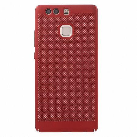 Handy Hülle für Huawei P8 Lite 2017 Schutzhülle Case Tasche Cover Etui Rot – Bild 2