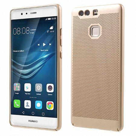 Handy Hülle für Huawei P9 Schutzhülle Case Tasche Cover Etui Gold