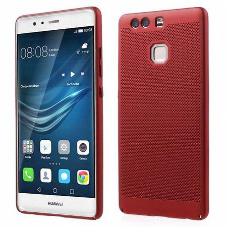 Handy Hülle für Huawei P9 Schutzhülle Case Tasche Cover Etui Rot
