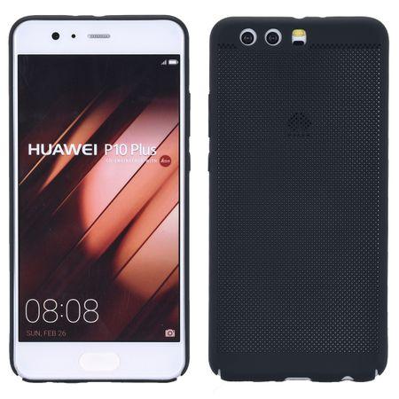 Handy Hülle für Huawei P10 Lite Schutzhülle Case Tasche Cover Etui Schwarz – Bild 1