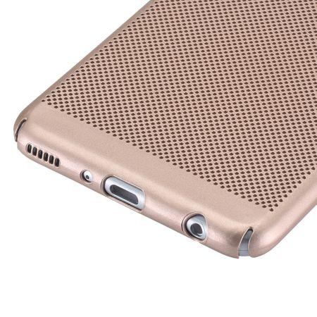 Handy Hülle für Huawei P10 Plus Schutzhülle Case Tasche Cover Etui Gold – Bild 3
