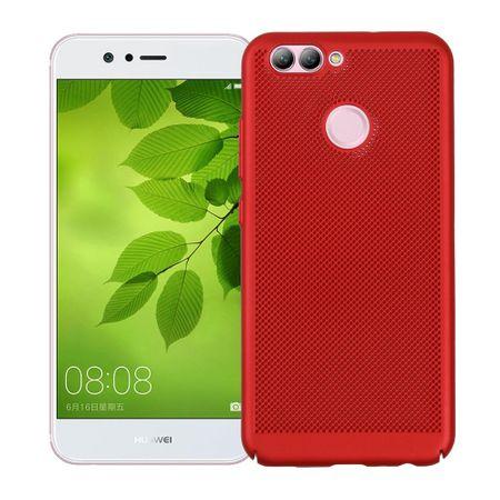 Handy Hülle für Huawei Nova Schutzhülle Case Tasche Cover Etui Rot