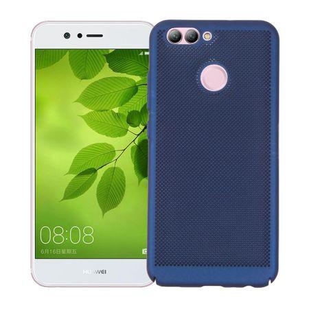 Handy Hülle für Huawei Nova 2 Schutzhülle Case Tasche Cover Etui Blau