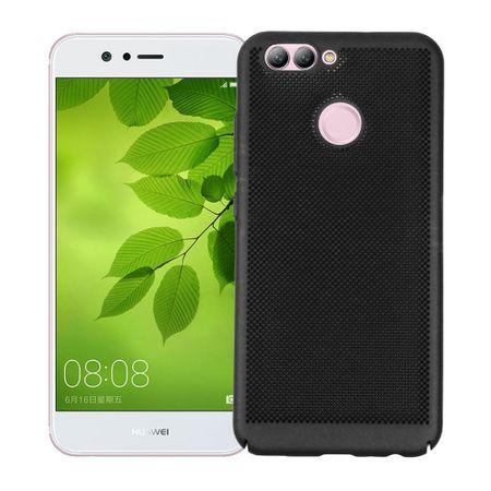 Handy Hülle für Huawei Y3 2017 Schutzhülle Case Tasche Cover Etui Schwarz