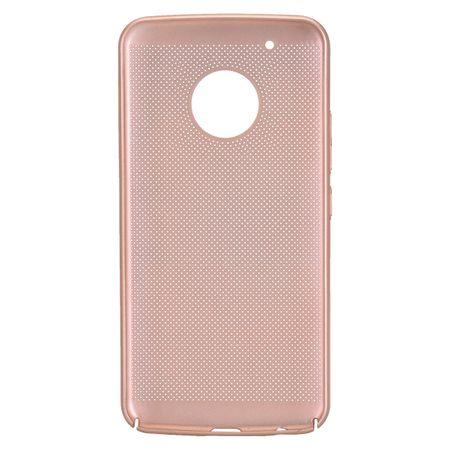 Handy Hülle für Motorola Moto G5 Plus Schutzhülle Case Tasche Cover Etui Gold – Bild 3