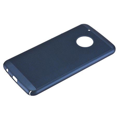 Handy Hülle für Motorola Moto G5 Plus Schutzhülle Case Tasche Cover Etui Blau – Bild 2