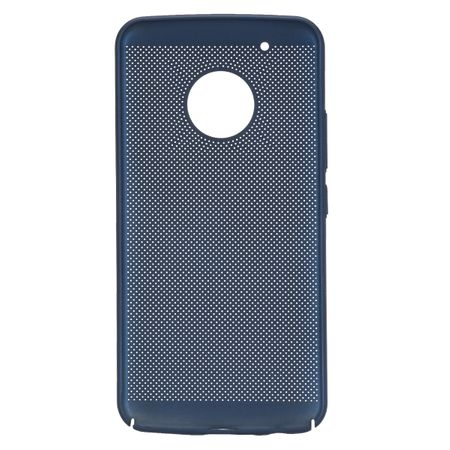 Handy Hülle für Motorola Moto G5 Plus Schutzhülle Case Tasche Cover Etui Blau – Bild 4