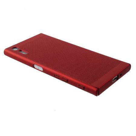 Handy Hülle für Sony Xperia XA1 Schutzhülle Case Tasche Cover Etui Rot – Bild 3