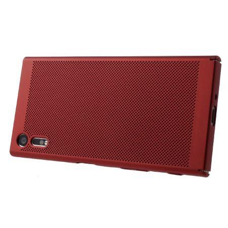 Handy Hülle für Sony Xperia XA1 Schutzhülle Case Tasche Cover Etui Rot – Bild 5