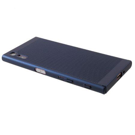 Handy Hülle für Sony Xperia XA1 Schutzhülle Case Tasche Cover Etui Blau – Bild 3