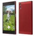 Handy Hülle für Sony Xperia XZ Schutzhülle Case Tasche Cover Etui Rot 001