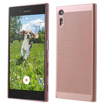 Handy Hülle für Sony Xperia XZ Schutzhülle Case Tasche Cover Etui Pink