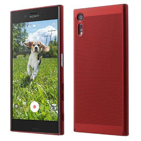 Handy Hülle für Sony Xperia L1 Schutzhülle Case Tasche Cover Etui Rot