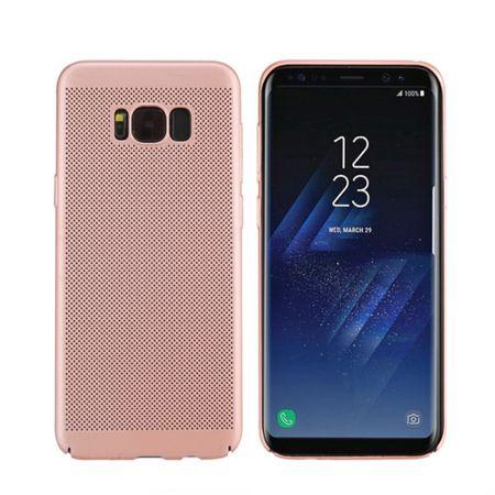 Handy Hülle für Samsung Galaxy S8 Schutzhülle Case Tasche Cover Etui Pink
