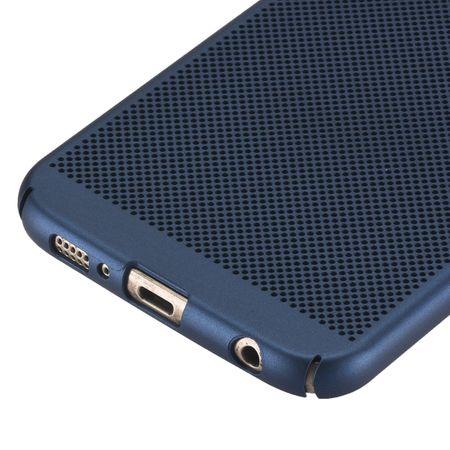 Handy Hülle für Samsung Galaxy S8 Schutzhülle Case Tasche Cover Etui Blau – Bild 3