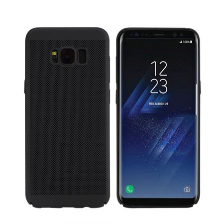 Handy Hülle für Samsung Galaxy S8+ Plus Schutzhülle Case Tasche Cover Etui Schwarz