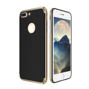 Hybrid Silikon Handy Hülle für Apple iPhone 6 / 6s Plus Case Cover Tasche Gold