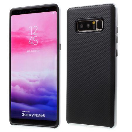 Hybrid Silikon Handy Hülle für Samsung Galaxy J7 2017 Case Cover Tasche Silber