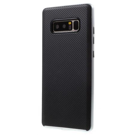 Hybrid Silikon Handy Hülle für Huawei Y6 II / 2 Case Cover Tasche Silber – Bild 5