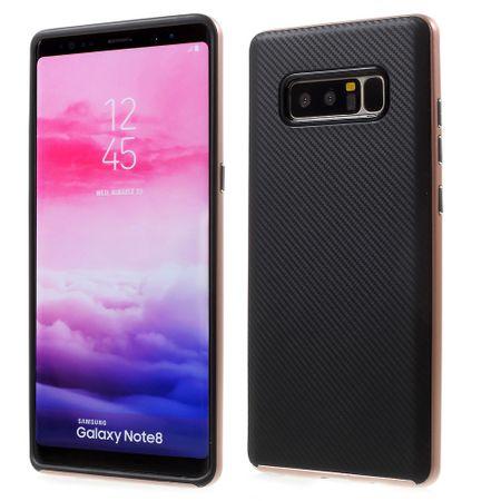 Hybrid Silikon Handy Hülle für Huawei Y6 II / 2 Case Cover Tasche Pink