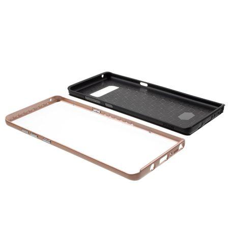 Hybrid Silikon Handy Hülle für Xiaomi Redmi Note 4 Case Cover Tasche Pink – Bild 3