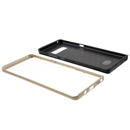 Hybrid Silikon Handy Hülle für Xiaomi Mi 6 Case Cover Tasche Gold – Bild 5