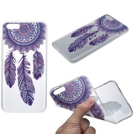 Henna Cover für Xiaomi Mi 5s Plus Case Schutz Hülle Silikon Traumfänger