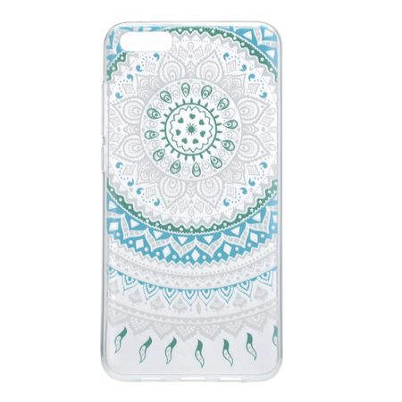 Henna Cover für Xiaomi Redmi Note 4X Case Schutz Hülle Silikon Sonne Blau – Bild 2