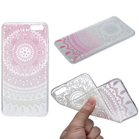 Henna Cover für Xiaomi Redmi Note 4X Case Schutz Hülle Silikon Sonne Weiß
