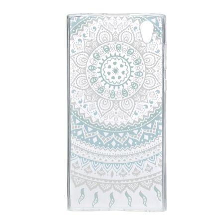 Henna Cover für Sony Xperia XA1 Ultra Case Schutz Hülle Silikon Sonne Blau – Bild 3