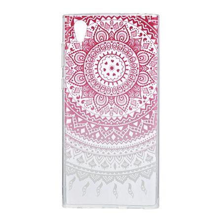 Henna Cover für Sony Xperia XA1 Ultra Case Schutz Hülle Silikon Sonne Pink – Bild 2