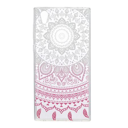 Henna Cover für Sony Xperia XA1 Ultra Case Schutz Hülle Silikon Sonne Weiß – Bild 2