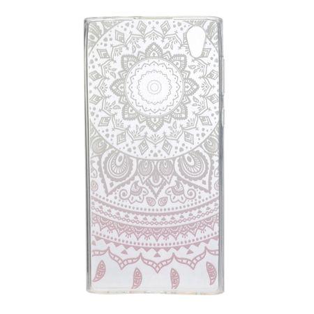 Henna Cover für Sony Xperia XA1 Ultra Case Schutz Hülle Silikon Sonne Weiß – Bild 3