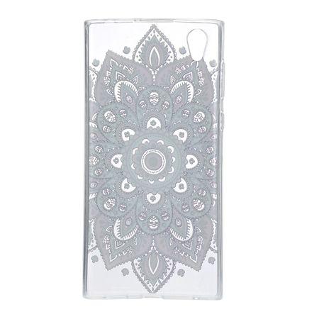 Henna Cover für Sony Xperia XA1 Ultra Case Schutz Hülle Silikon Tattoo Bunt – Bild 3