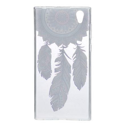 Henna Cover für Sony Xperia XZ Premium Case Schutz Hülle Silikon Traumfänger – Bild 3