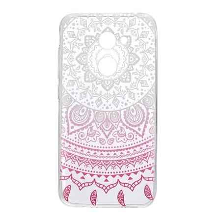 Henna Cover für Alcatel A5 LED Case Schutz Hülle Silikon Sonne Weiß – Bild 2