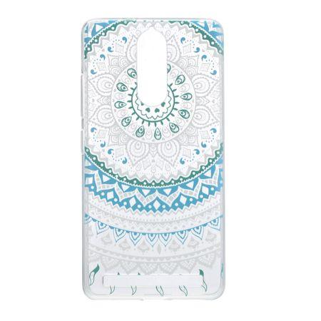 Henna Cover für Lenovo Vibe K5 Case Schutz Hülle Silikon Sonne Blau – Bild 2