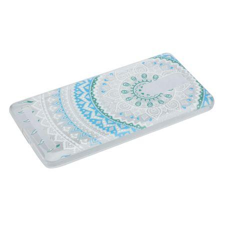 Henna Cover für Lenovo Vibe K5 Note Case Schutz Hülle Silikon Sonne Blau – Bild 4