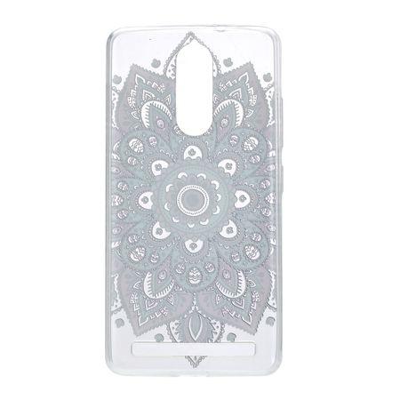 Henna Cover für Lenovo Vibe K5 Note Case Schutz Hülle Silikon Tattoo Bunt – Bild 3