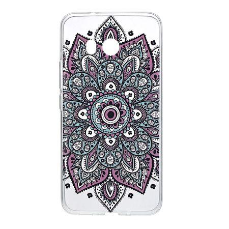 Henna Cover für HTC U11 Case Schutz Hülle Silikon Tattoo Bunt – Bild 2