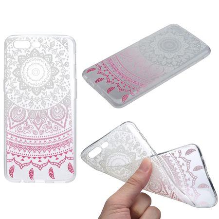 Henna Cover für OnePlus 5 Case Schutz Hülle Silikon Sonne Weiß