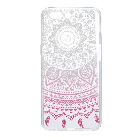 Henna Cover für OnePlus 5 Case Schutz Hülle Silikon Sonne Weiß – Bild 2