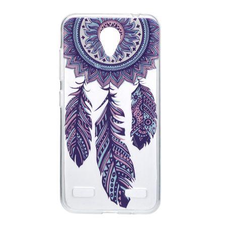 Henna Cover für ZTE Blade V8 Case Schutz Hülle Silikon Traumfänger – Bild 2