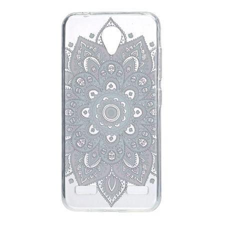 Henna Cover für ZTE Blade V8 Case Schutz Hülle Silikon Tattoo Bunt – Bild 3