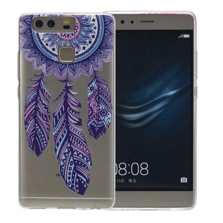 Henna Cover für Huawei P9 Lite Case Schutz Hülle Silikon Traumfänger