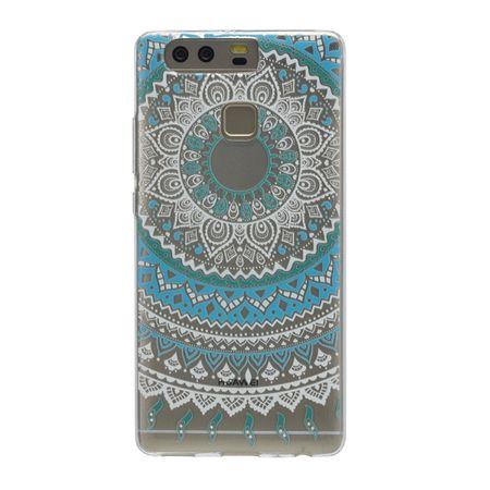 Henna Cover für Huawei Enjoy 6s Case Schutz Hülle Silikon Sonne Blau – Bild 3