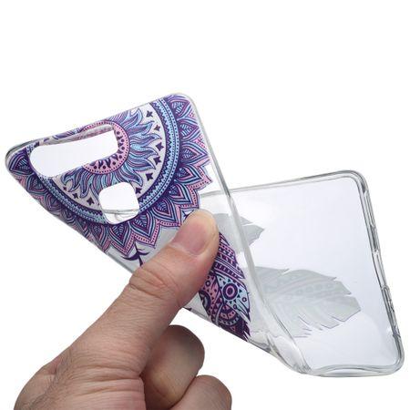 Henna Cover für Huawei P10 Plus Case Schutz Hülle Silikon Traumfänger – Bild 5