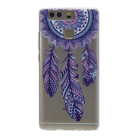 Henna Cover für Huawei Y5 2017 Case Schutz Hülle Silikon Traumfänger – Bild 3